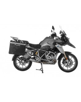 【BMW R1200GS(LC)/Adventure(LC) 2014 】TOURATECH 側箱ZEGA Pro 31/38鋁箱組 黑色