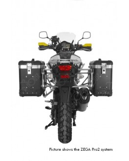 【Suzuki V-Strom 1000 from 2014 】TOURATECH 側箱ZEGA Pro 31/38鋁箱組 黑色