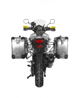 【Suzuki V-Strom 1000 from 2014 】TOURATECH 側箱ZEGA Pro2 31/38鋁箱組 銀色