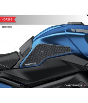 OneDesign保護貼-YAMAHA TRACER MT-09 油箱止滑側貼 HDR265
